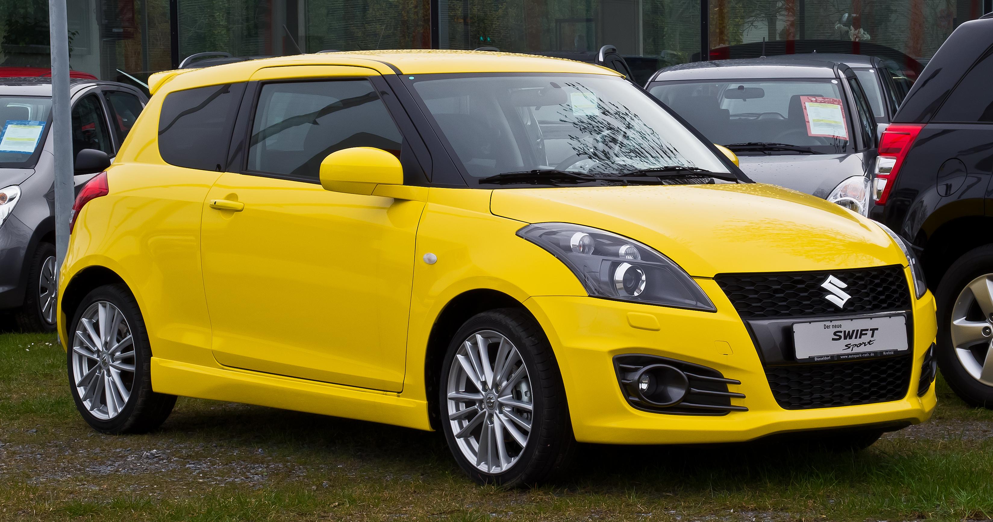 Suzuki Swift IV 2010 - 2013 Hatchback 3 door #8