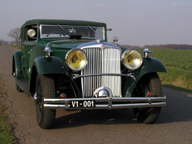 Tatra 80 1931 - 1935 Cabriolet #3