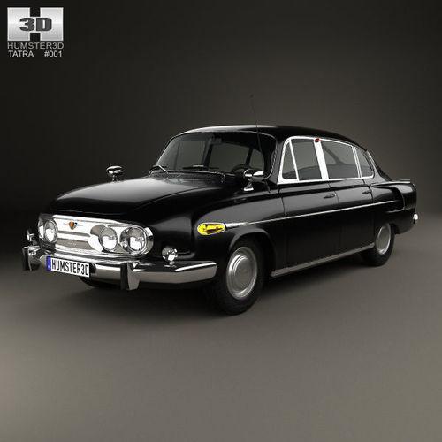 Tatra T603 II 1968 - 1975 Sedan #6