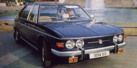 Tatra T613 1973 - 1996 Cabriolet #7