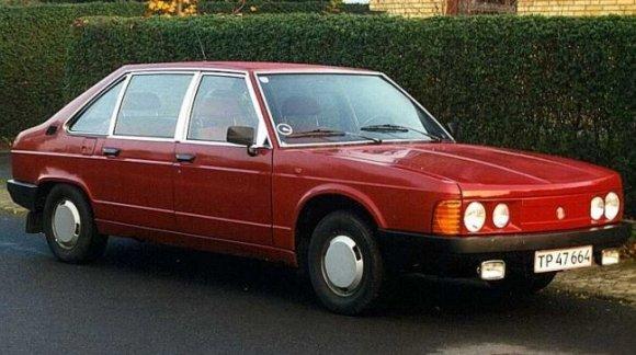 Tatra T613 1973 - 1996 Cabriolet #6