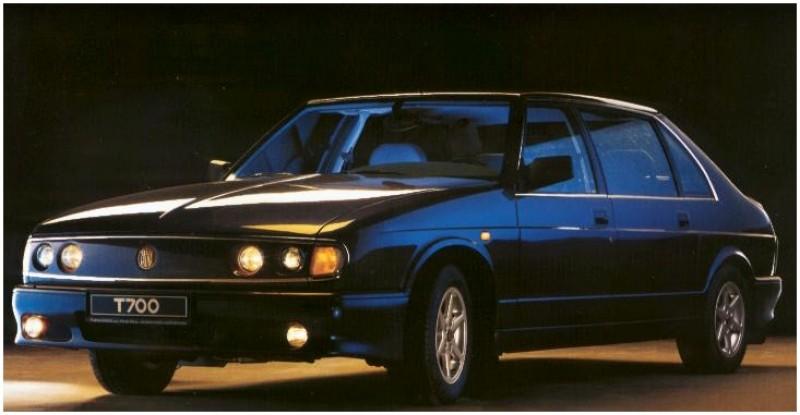 Tatra T700 1996 - 1999 Sedan #5
