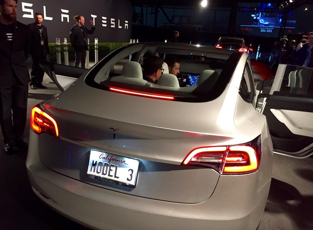 Tesla Model 3 I 2017 - now Liftback #6
