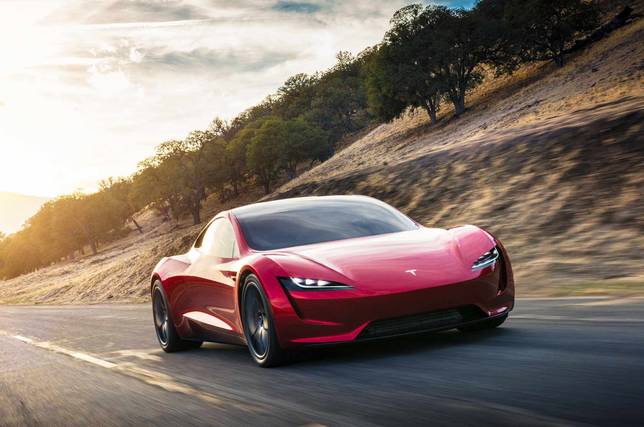 Tesla Roadster Concept 2017 - now Targa #1