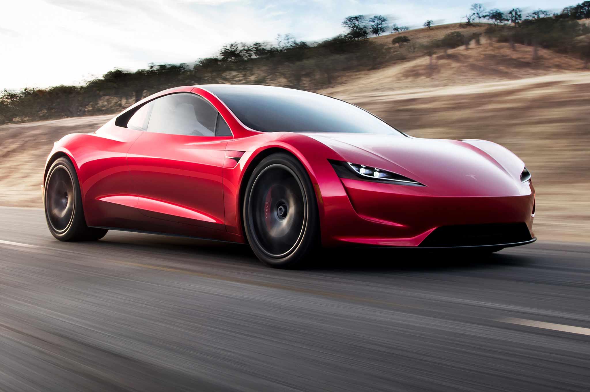 Tesla Roadster Concept 2017 - now Targa #2