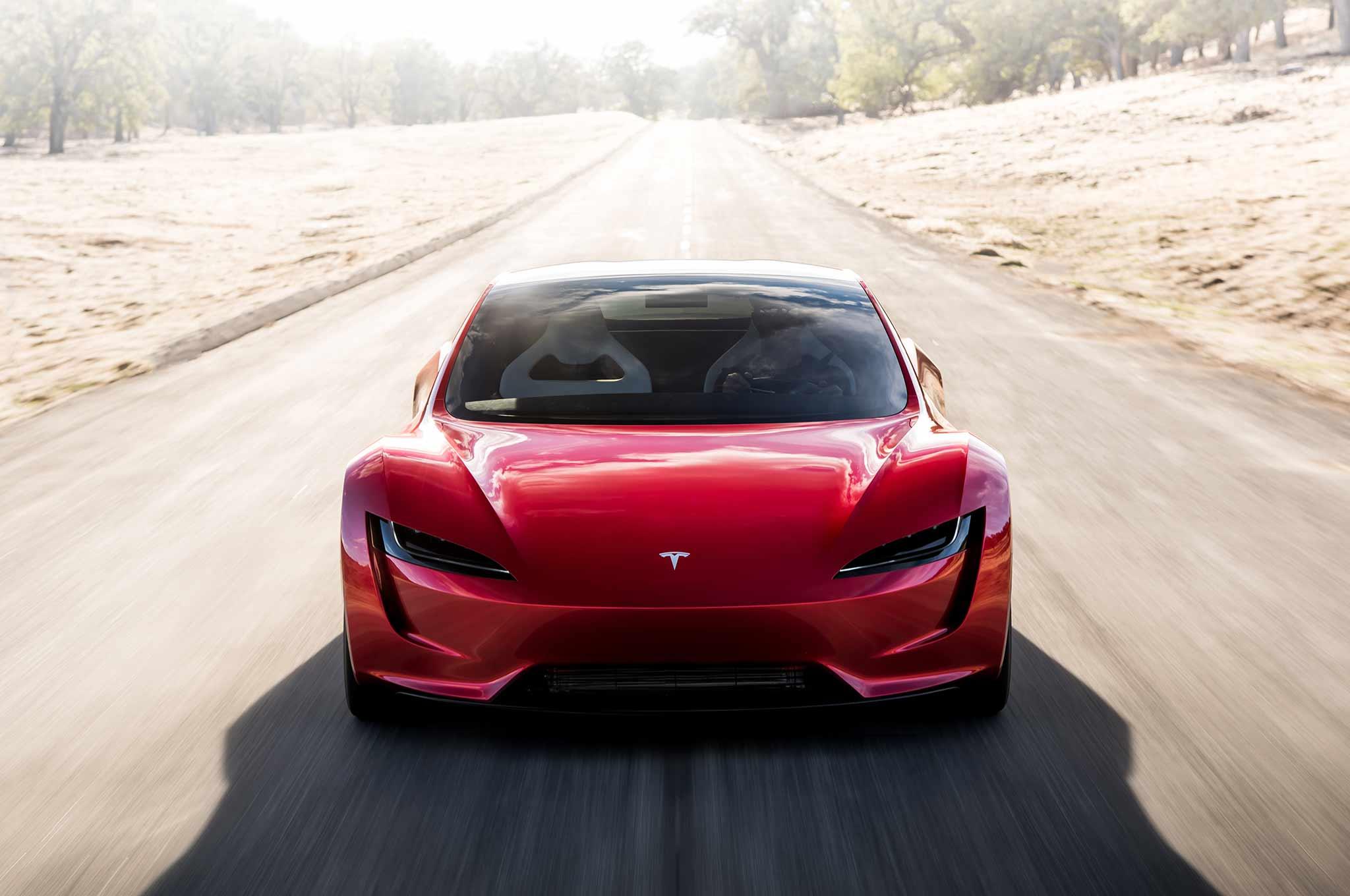 Tesla Roadster Concept 2017 - now Targa #3