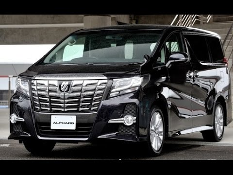 Toyota Vellfire II 2015 - now Minivan :: OUTSTANDING CARS