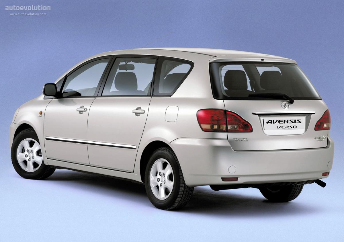 Toyota Avensis Verso I 2001 - 2003 Compact MPV #7