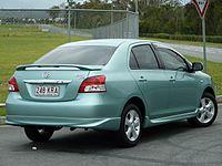 Toyota Belta 2005 - 2012 Sedan #7