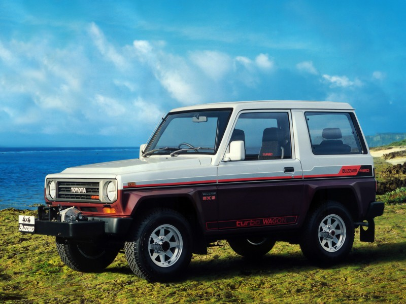 Toyota Blizzard 1984 - 1994 SUV #5