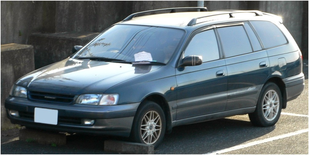 Toyota Caldina II Restyling 2000 - 2002 Station wagon 5 door #3