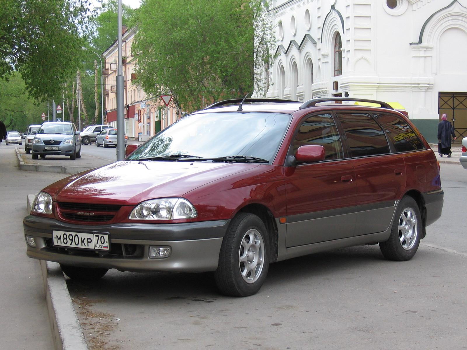 Toyota Caldina II 1997 - 2000 Station wagon 5 door #3