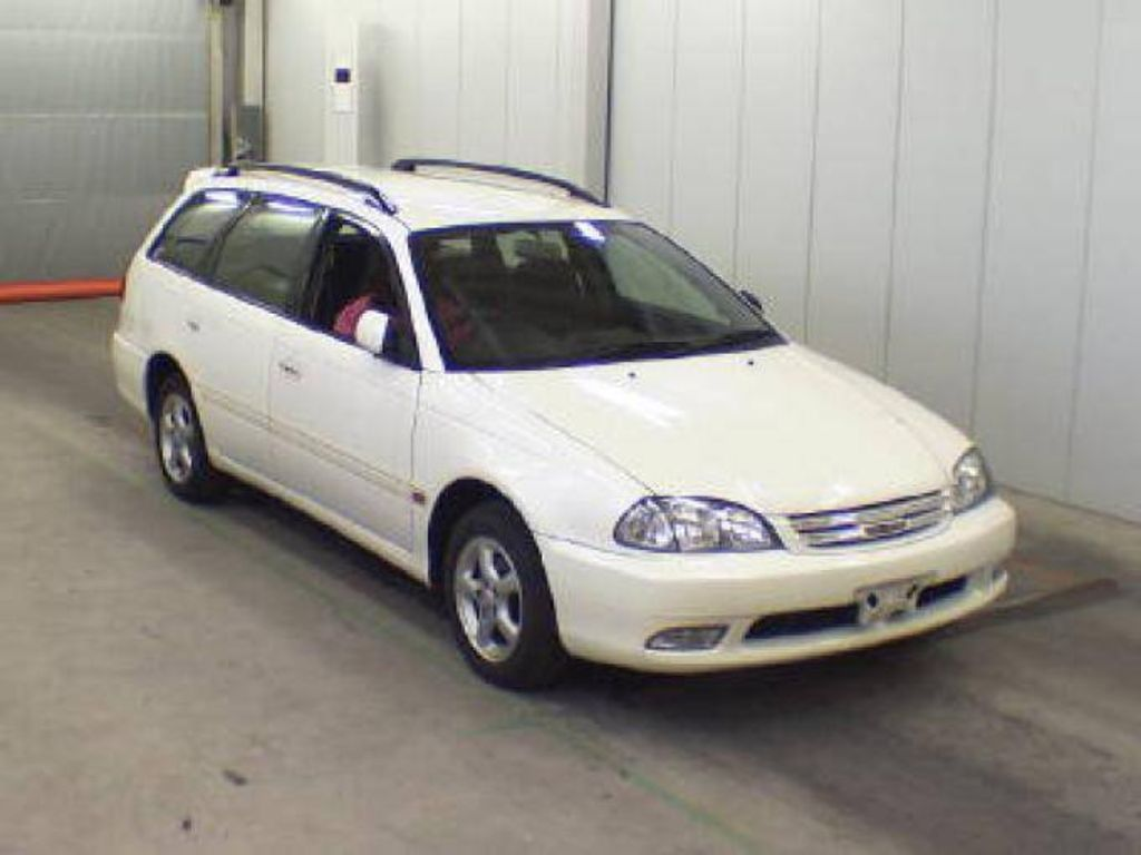 Toyota Caldina II Restyling 2000 - 2002 Station wagon 5 door #1