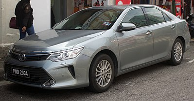 Toyota Camry VII (XV50) Restyling 2014 - now Sedan #7