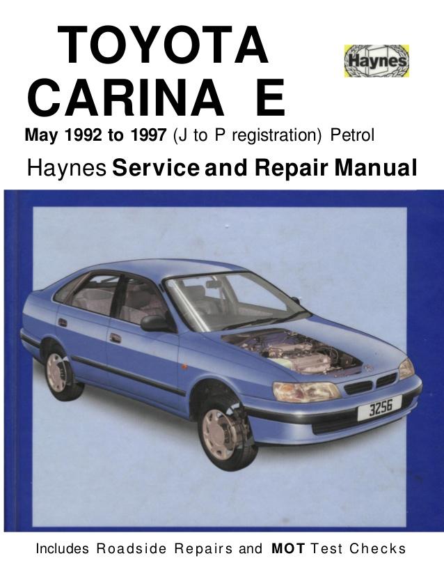 toyota carina workshop manual open source user manual u2022 rh dramatic varieties com 1994 Toyota Corona Interior Toyota Corolla 1994 Model