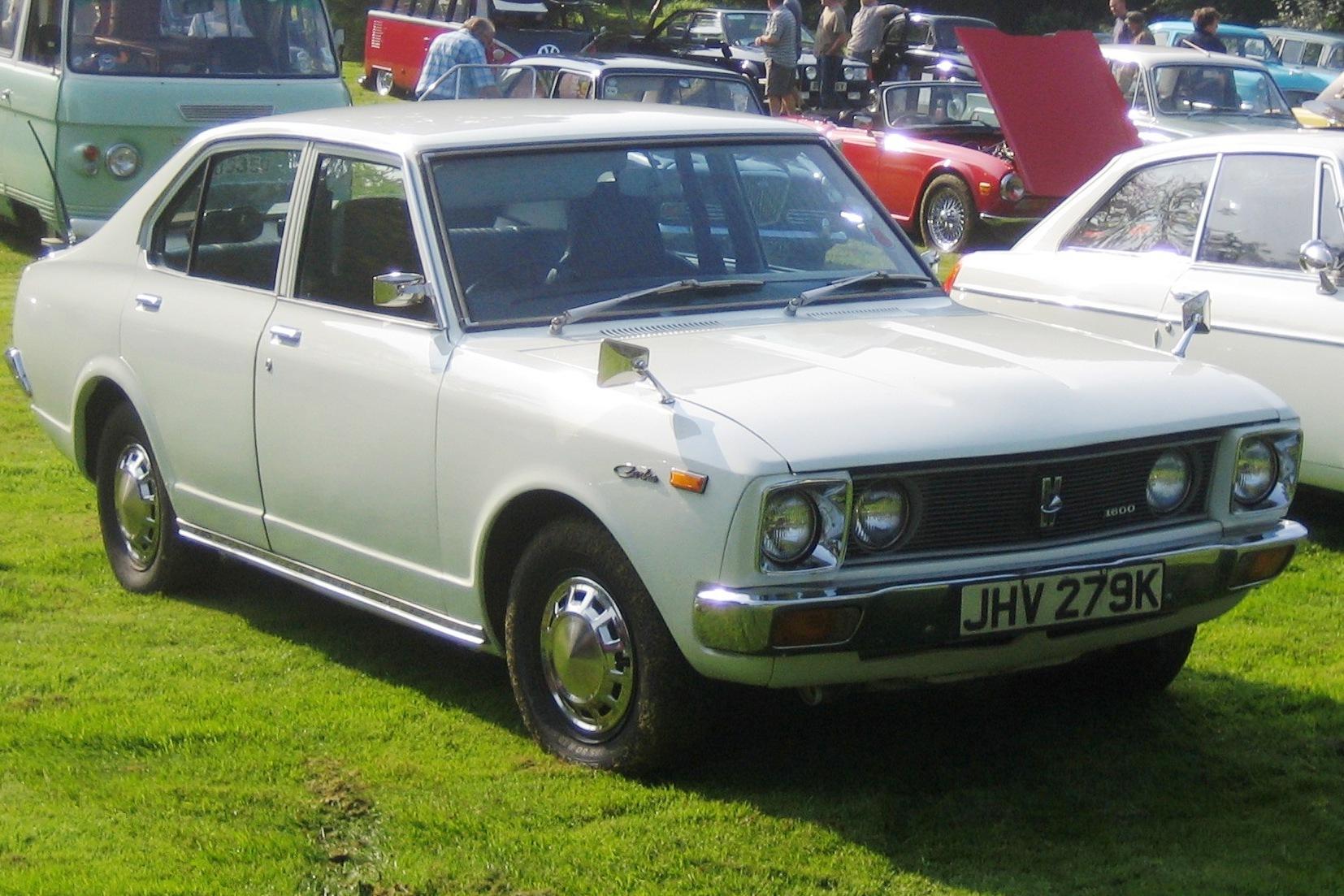 Toyota Carina I (A10) 1970 - 1977 Coupe #6
