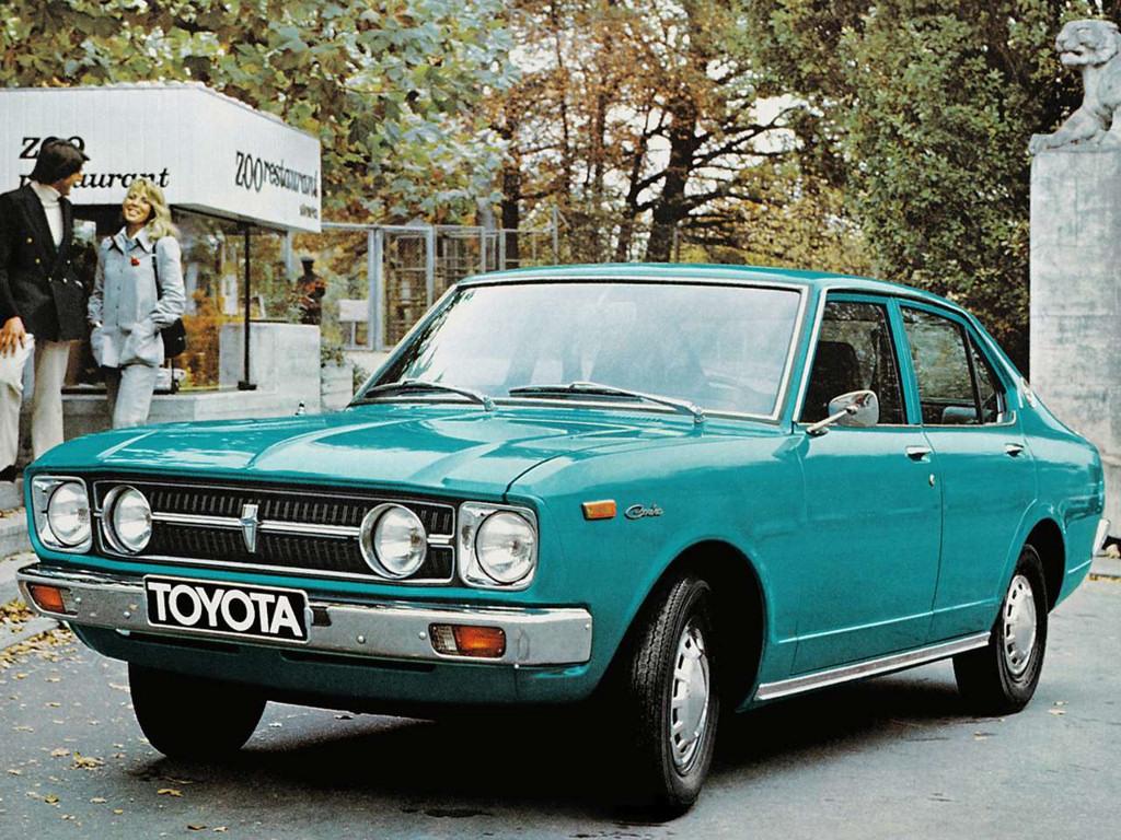 Toyota Carina I (A10) 1970 - 1977 Sedan #1