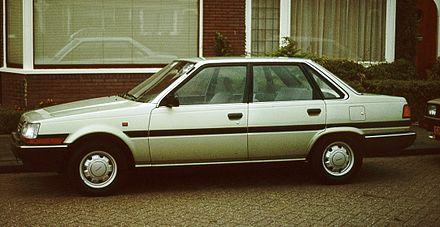 Toyota Carina IV (T150) 1983 - 1988 Hatchback 5 door #2