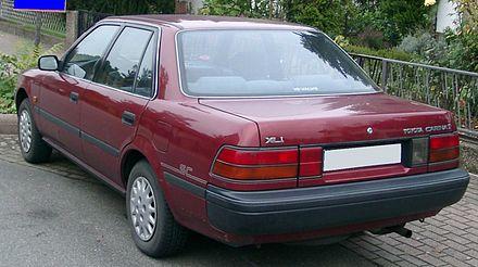 Toyota Carina IV (T150) 1983 - 1988 Hatchback 5 door #1