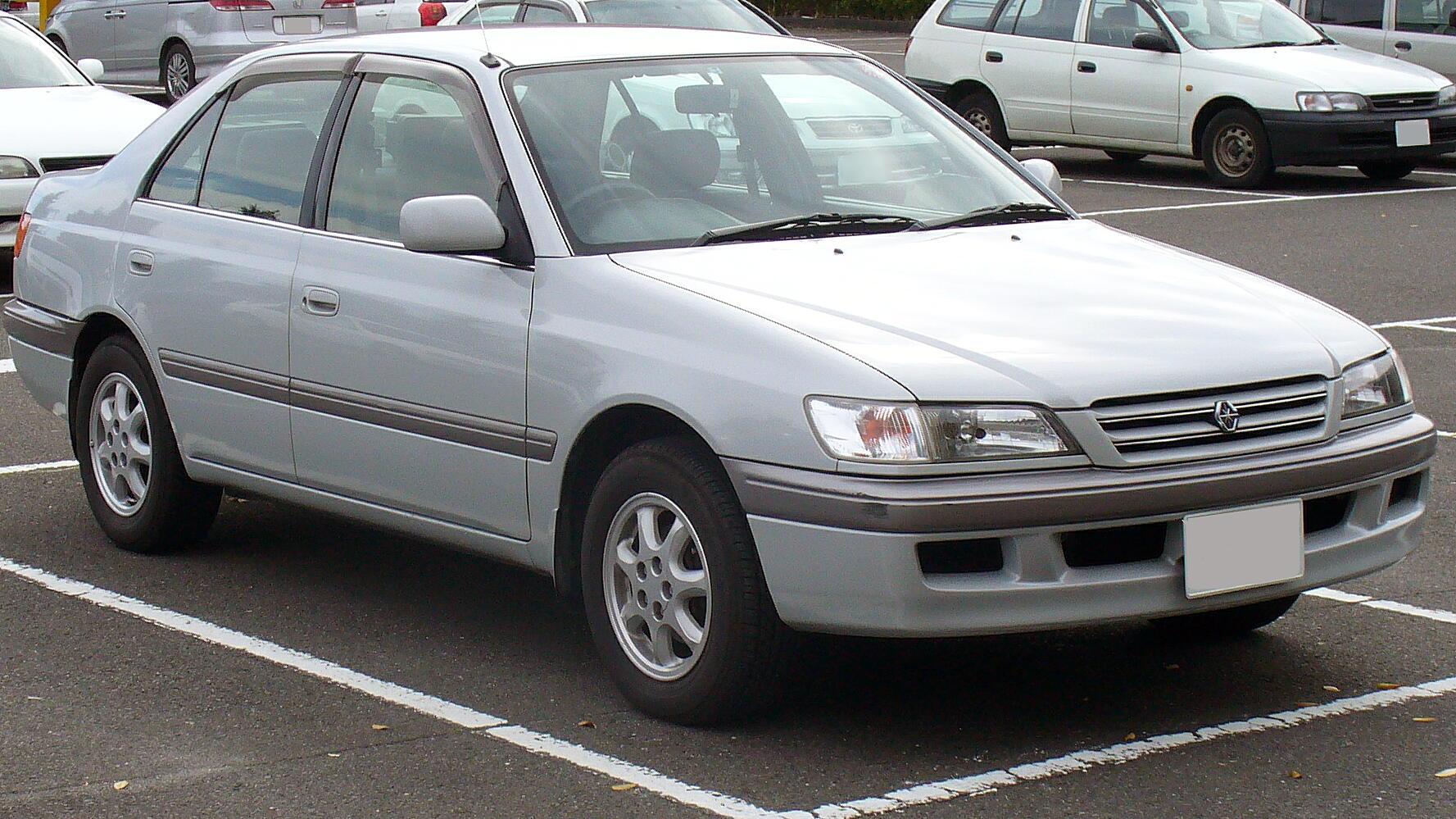 Toyota Carina VII (T210) 1996 - 2001 Sedan #1