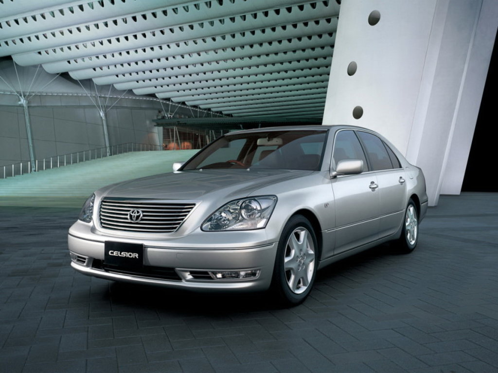 Toyota Celsior III (F30) Restyling 2003 - 2006 Sedan #1