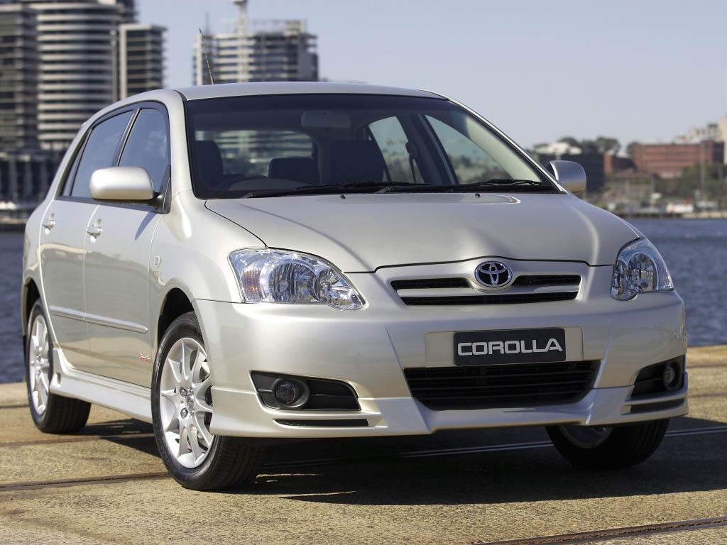 Toyota Corolla IX (E120, E130) 2001 - 2004 Hatchback 5 door #4