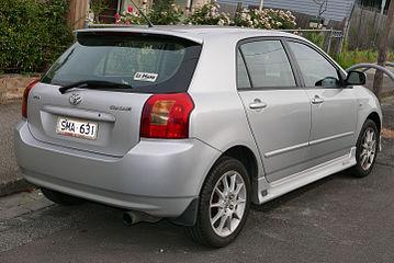Toyota Corolla IX (E120, E130) 2001 - 2004 Hatchback 3 door
