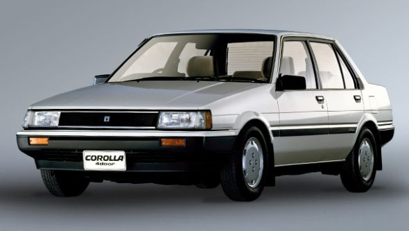 Toyota Corolla V E80 1983 1987 Sedan Outstanding Cars
