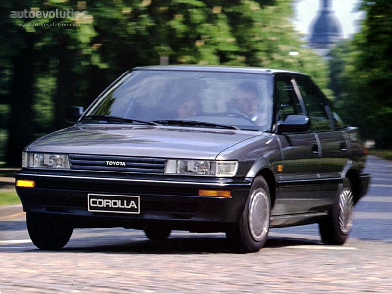 Toyota Sprinter VI (E90) 1987 - 1991 Sedan #6