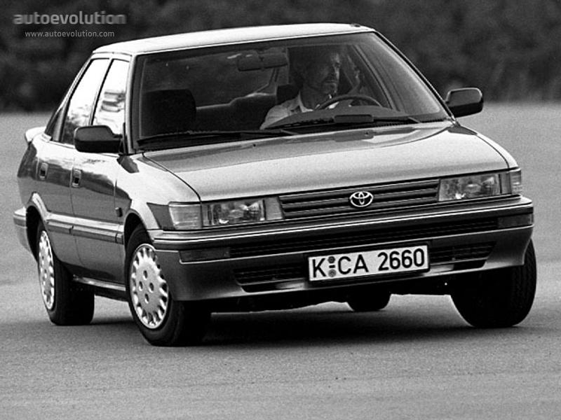 Toyota Sprinter VI (E90) 1987 - 1991 Sedan #5