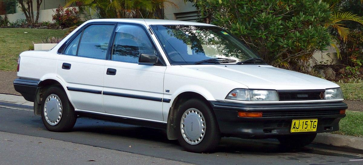 Toyota Sprinter VI (E90) 1987 - 1991 Sedan #8