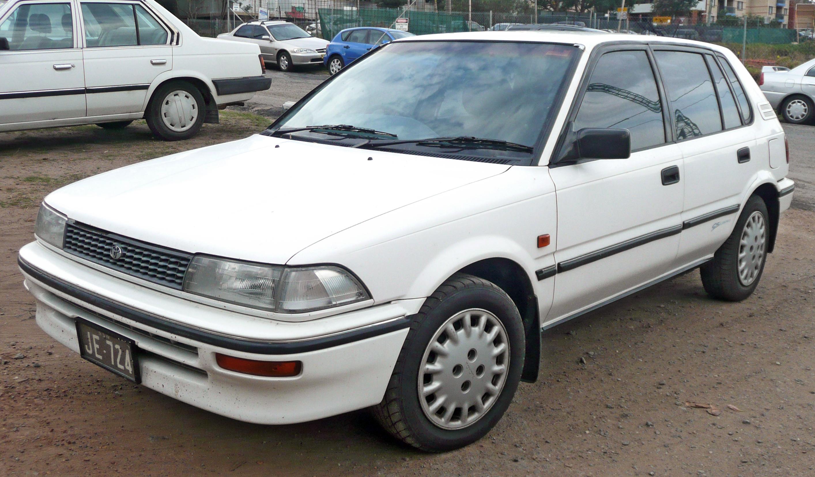 Toyota Sprinter VI (E90) 1987 - 1991 Sedan #4