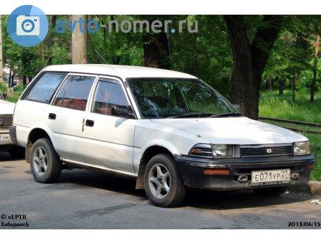 Toyota Corolla VI E90 1987