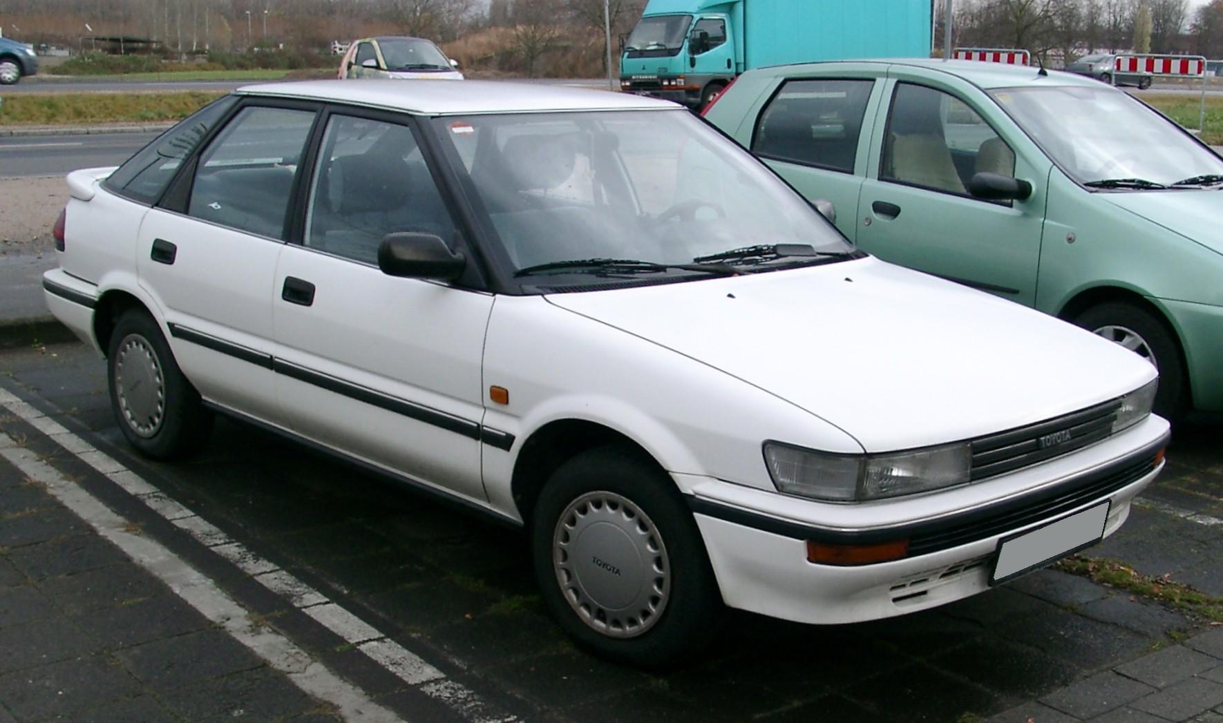Toyota Corolla VII (E100) 1991 - 2002 Coupe #4