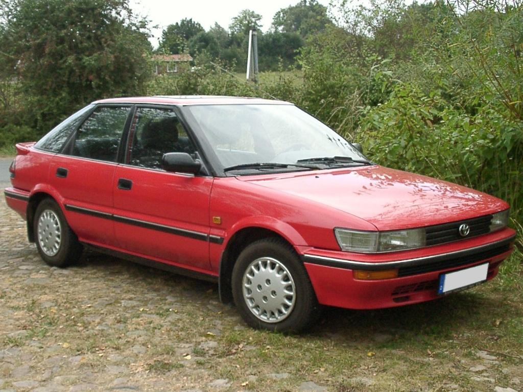 Toyota Corolla VII (E100) 1991 - 2002 Coupe #1