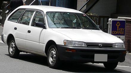 Toyota Corolla VII (E100) 1991 - 2002 Coupe #6