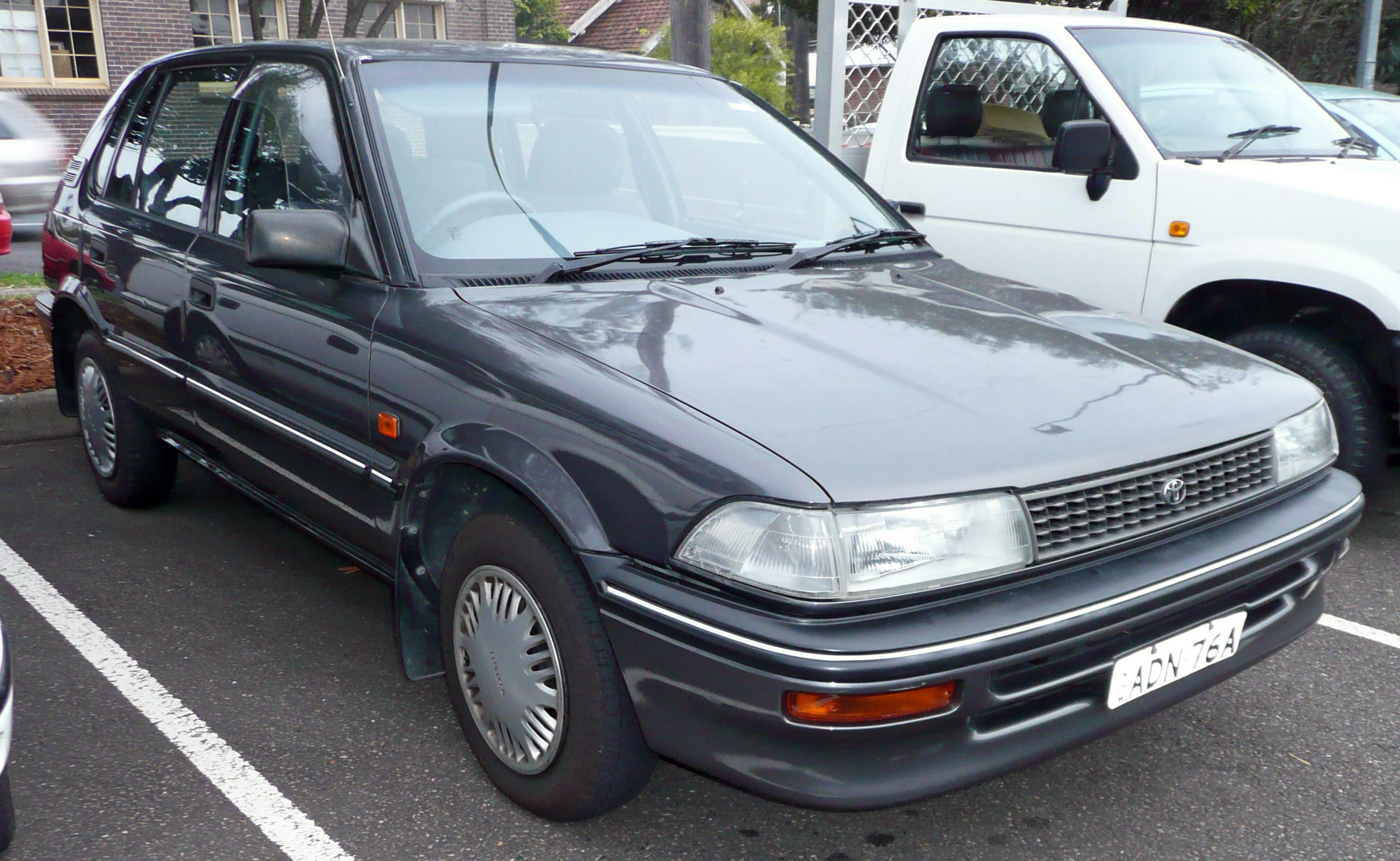 toyota corolla vii e100 1991 2002 hatchback 5 door rh carsot com 1992 toyota corolla manual pdf 1991 toyota corolla manual transmission