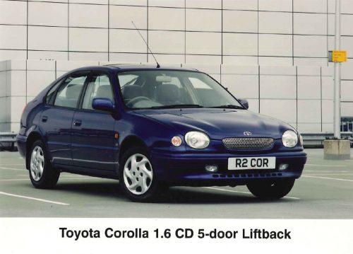 Toyota Corolla VIII (E110) 1997 - 2000 Coupe #2