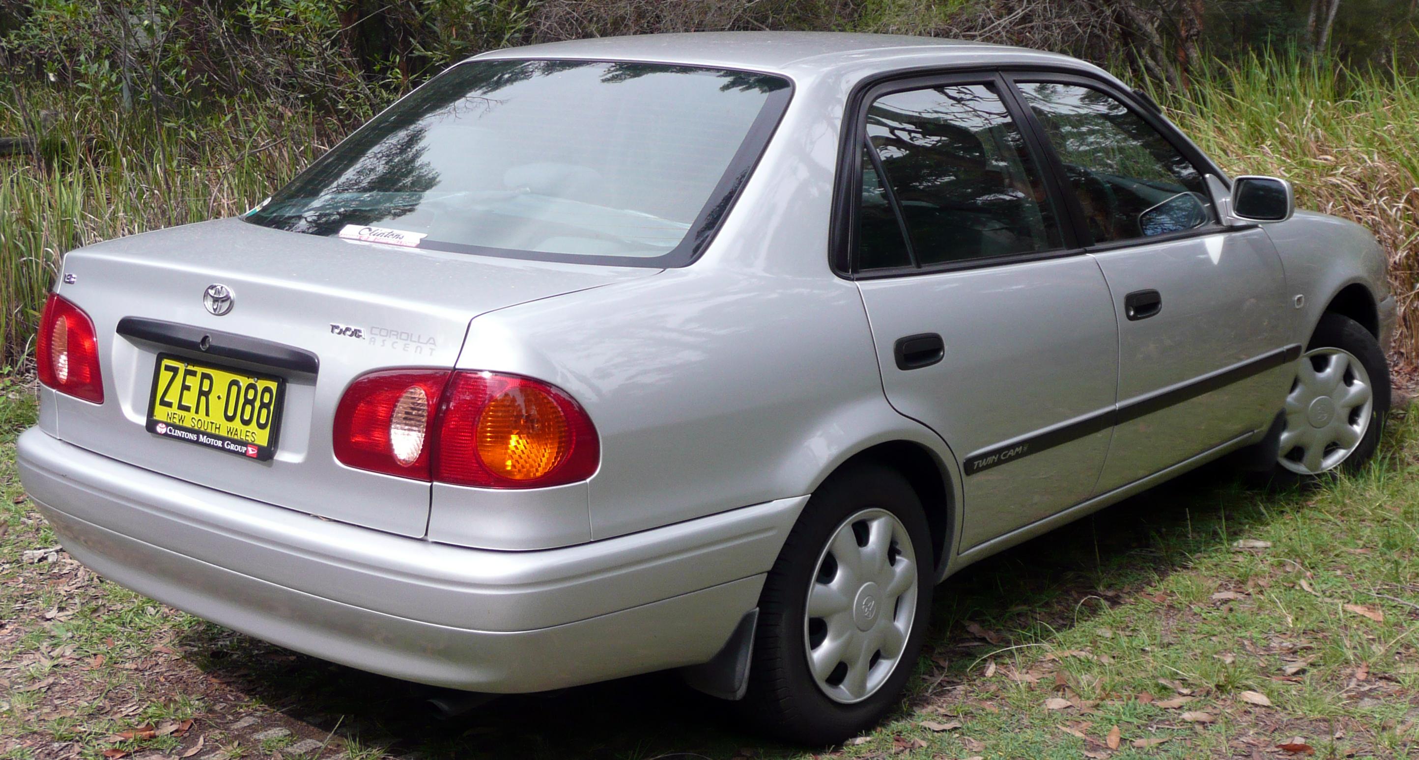 Toyota Sprinter VIII (E110) 1995 - 2000 Sedan #1
