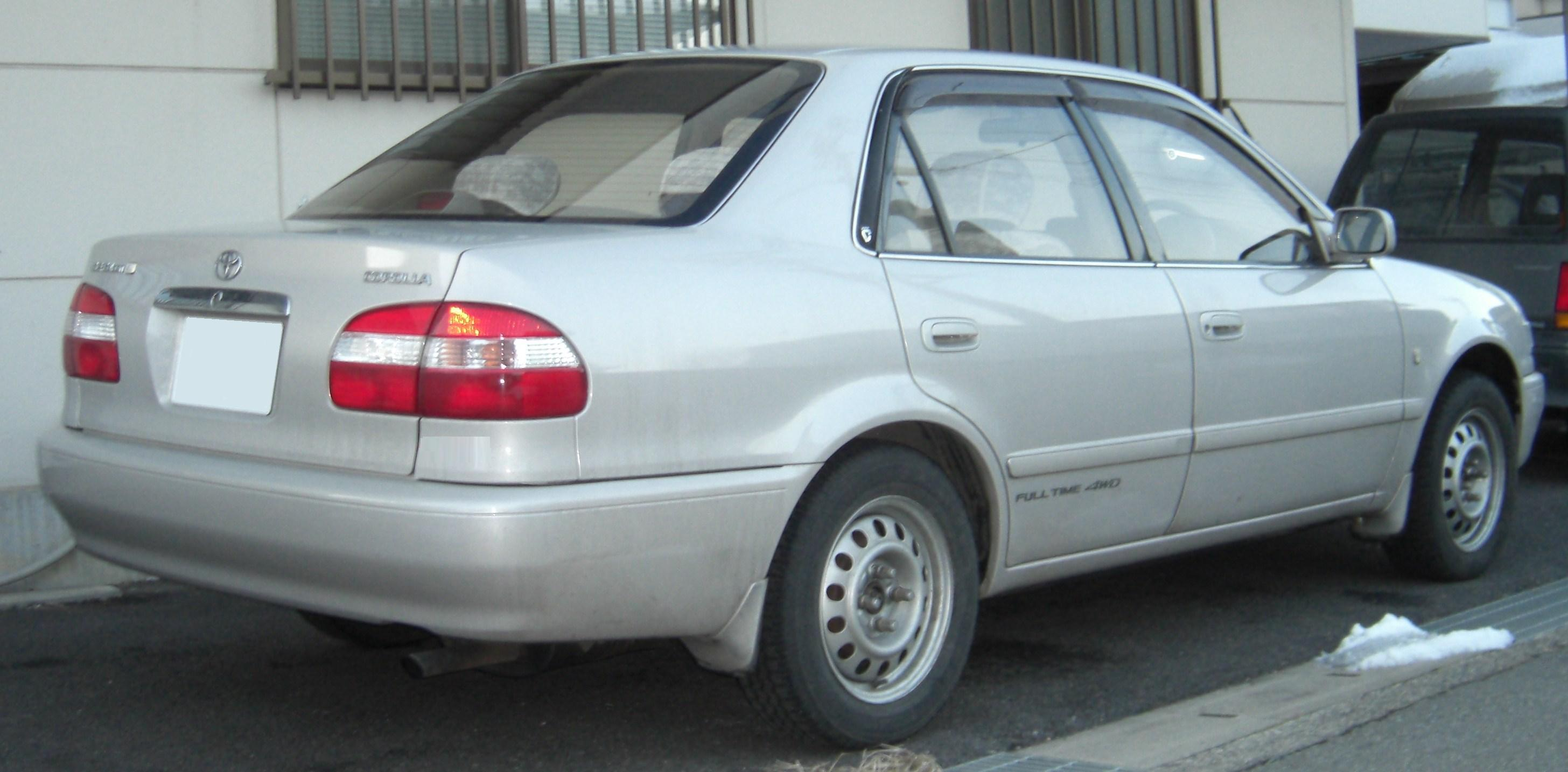 Toyota Sprinter VIII (E110) 1995 - 2000 Sedan #4