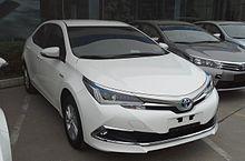 Toyota Corolla XI (E160, E170) Restyling 2015 - now Sedan #2