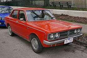 Toyota Corona V (T100, T110, T120) 1973 - 1979 Sedan #1