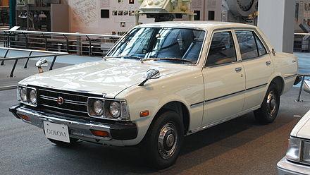 Toyota Corona V (T100, T110, T120) 1973 - 1979 Sedan 2 door #7