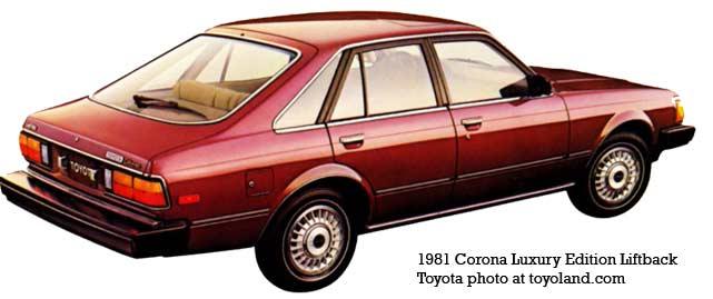 Toyota Corona VI (T130) 1979 - 1981 Liftback #3