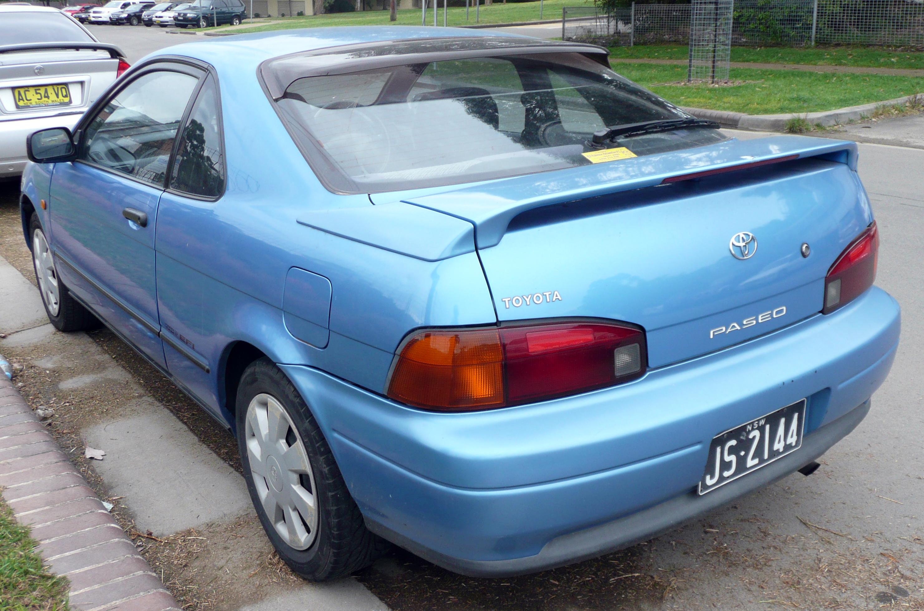 Toyota Paseo I (L40) 1991   1996 Coupe #3