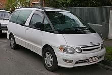 Toyota Previa I (XR10, XR20) 1990 - 2000 Minivan #8
