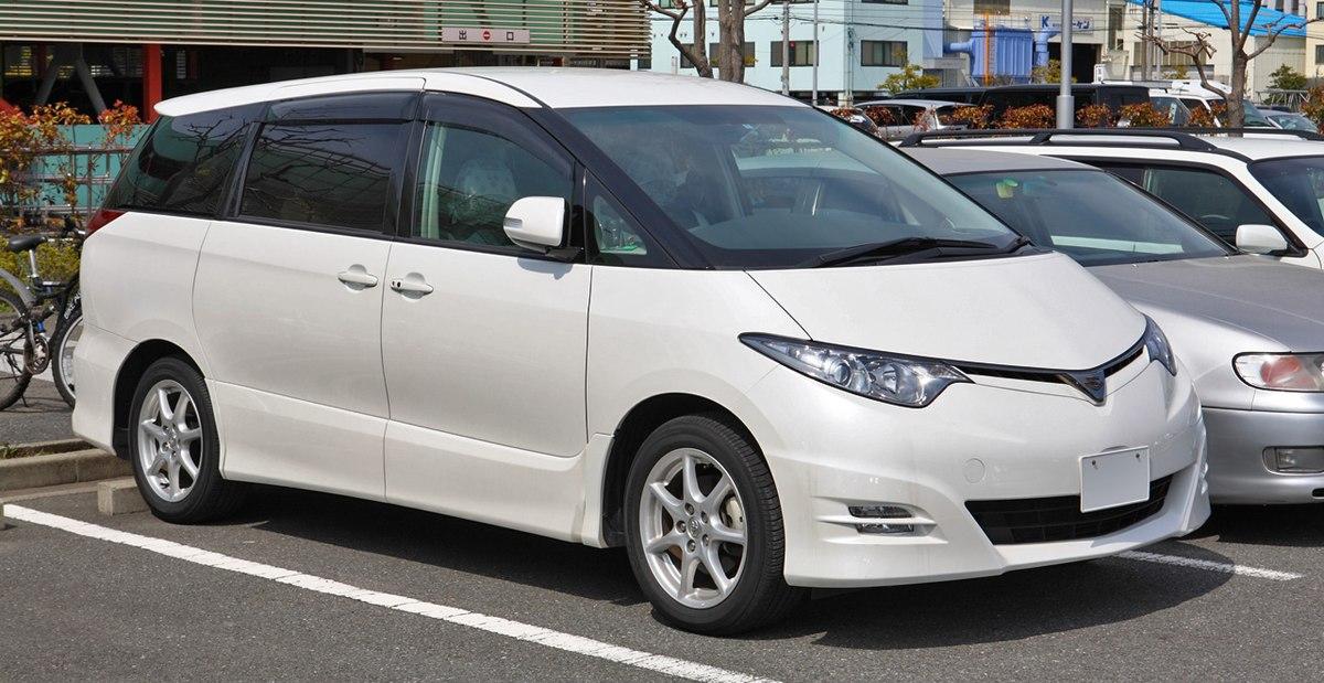 Toyota Estima III Restyling 3 2016 - now Minivan #8