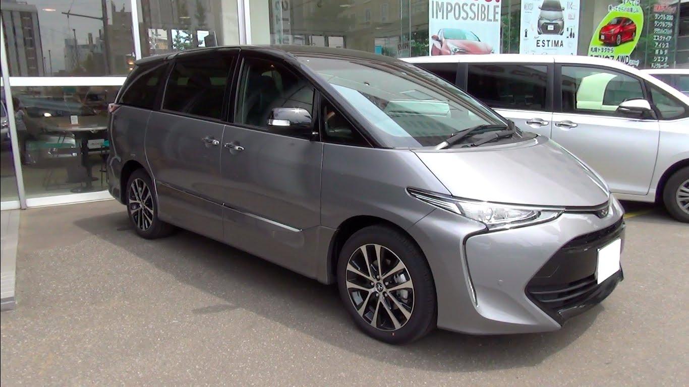 Toyota Estima III Restyling 3 2016 - now Minivan #6