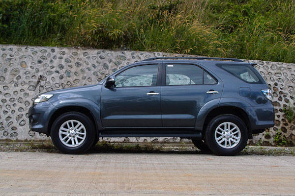 Toyota Fortuner I 2005 2015 Suv 5 Door Outstanding Cars
