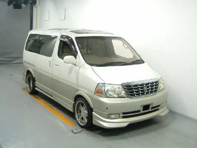 Toyota Grand HiAce I 1999 - 2002 Minivan #6